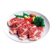 Pork Sliced CT Butt Steak 1.5lb(680g), 돼지 생목살 소금구이 1.5lb(680g), 豬梅花肉排 1.5lb(680g)