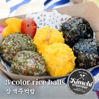 3 Color rice balls / 삼색주먹밥