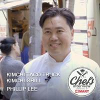 Chef Phillip Lee at Kimchi Taco Truck & Kimchi Grill : Ssam Burrito /  쌈 부리또