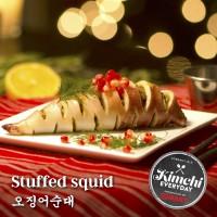 Stuffed squid / 오징어순대