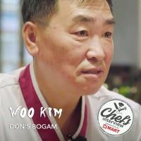 Chef Woo Kim at Dons Bogam : Marinated Beef Platter  / 양념 소고기 모듬구이