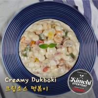 Creamy Ddukbokki / 크림떡볶이