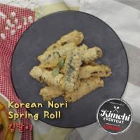 Korean Nori Spring Roll / 김말이