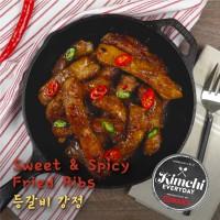 Sweet & Spicy Fried Ribs / 등갈비강정