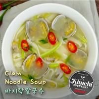 Clam Noodle Soup / 바지락 칼국수
