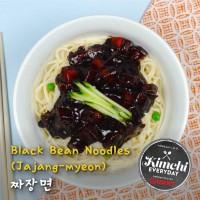 Black bean noodles (Jajangmyeon) / 짜장면