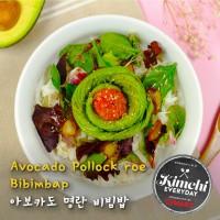 Avocado Pollock roe bibimbap / 아보카도 명란비빔밥