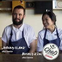 Chef Johnny Clark & Chef Beverly Kim at Parachute : Dolsot Bibimbap with Yellowfin Tuna, Kale, and Pomegranates / 옐로 핀 튜나 돌솥 비빔밥