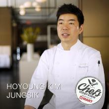 Chef Ho Young Kim at Jungsik : Braised Octopus with Gochujang Aioli / 찐 문어와 고추장 아이올리