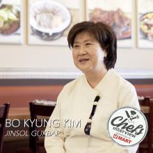 Chef Kim Bok Kyung at Jinsol Gukbap : Jjimdak
