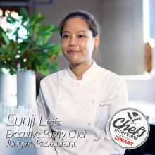 Pastry Chef Eunji Lee at Jungsik : Soy-Balhyo / 발효