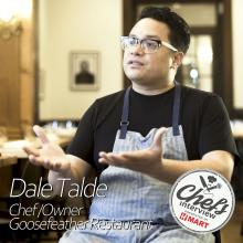 Chef Dale Talde at Goosefeather : Roasted Lobster, Brown Butter Kimchi, Kim / 브라운 버터 김치 랍스터