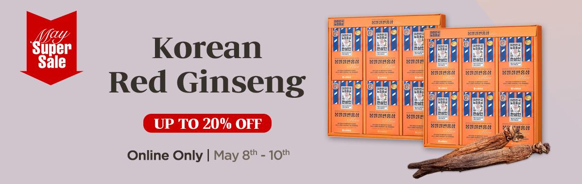Hansamin Red Ginseng Sale